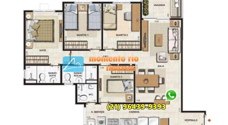 Apartamento À VENDA, BARRA DA TIJUCA, Camorim, Rio de Janeiro, RJ - MRI 4023 - 10
